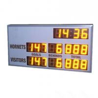 China Small Model AFL Electronic Scoreboard 60cm X 120cm X 10cm With 6 Inch Digits for sale