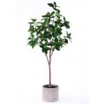 7 Ft Artificial Ficus Tree Simulation Branches Botanically Accurate For Restaurant for sale