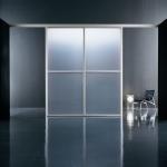 sandblasted glass doors  yida glass frosted glass wall panel