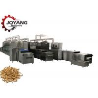 Flexible Operation ,  Microwave Drying and Baking Machine for Mealworm for sale