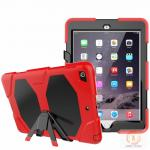 China Full Protective Housing Stand Hybrid Rubber Kidsproof Case Mobile Phone Case Cover For IPad 9.7' for sale