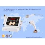 3D hifu + freezing for beauty salon and clinic wrinkle lifting removal machine