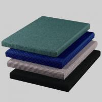 Green / Blue Acoustic Fabric Panels for Auditorium Decorative 25mm Thickness for sale