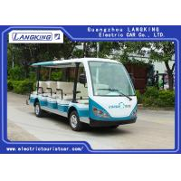 China 14 Seats 4 Wheels Electric Tourist Car For Resorts ,Villas , City Walking Street for sale