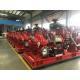 China 1000gpm@175PSI EDJ  Diesel Engine Motor and Jockey Ul/FM HSC Fire Pump set for sale