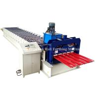 PPGi GI Metal Roofing Sheet Roll Forming Machine Double Layer 45# Steel Roller for sale