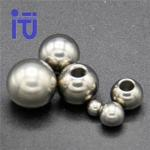 Anti Corrosion Titanium Ball Mechanical Strength Customized Size for Body Jewelry for sale