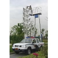 China 9m 200Kg Aluminum Dual Mast Aerial Work Platform , Truck - Mounted Type supplier