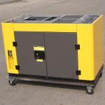 Air - cooled 15kva Small Portable Diesel Generator , 12kw diesel house generator for sale