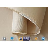 China 12HS Silica Fabric Welding Blanket Splash Protection High Silica Cloth Brown for sale