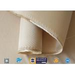 China 12HS Silica Fabric Welding Blanket Splash Protection High Silica Cloth Brown manufacturer
