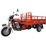 Fuel Motorized 200CC Cargo Tricycle China Three Wheeler With Light Cargo Box for sale