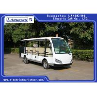 China Cool 11 Seats Cargo Electric Sightseeing Vehicle With Small Toplight 72V 7.5KW for sale