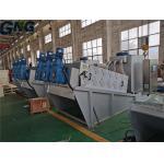 Non Clogging Textile Effluent Multi Plate Volute Sludge Dewatering Machine