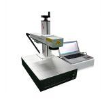China 20 Watt Portable Automatic Laser Marking Machine Desktop Laser Marker Split Type for sale