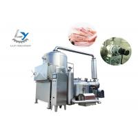 China High Vacuum Automatic Snacks Frying Machine Continuously Oil Filtration for sale
