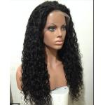 China Mixed Color 100% Peruvian glueless human hair full lace wigs With Combs / Straps for sale