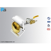 China IEC60529 Brass Spray Nozzle Hand-Held Device IP Testing Equipment for sale