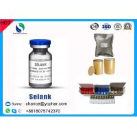 Selank Injectable Synthetic Analogue Nootropic Anxiolytic Peptide CAS 129954-34-3 for sale