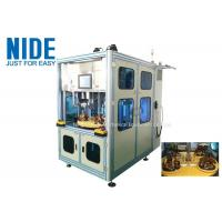 Four working station automatic stator winding and coil inserting machine for sale
