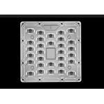 High Power LED Street Light Lens PC Material 90° Beam Output Angle 3030 LED for sale