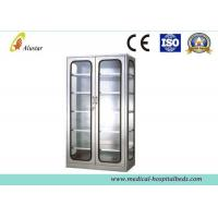 Glass Metal Medical Cabinet Hospital Instrument Cabinet 900*400*1750mm for sale