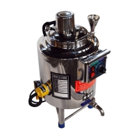 Automatic Batch Coconut Electric Htst Small Milk Pasteurizer Machine For Home