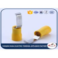Wholesale safety durable electrica ends insulated lipped blade terminals for sale