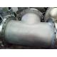 China Butt Weld Fittings B366 Hastelloy C-276 BW Straight TEE welded with Flange 24'' for sale