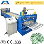 Aluminium Roofing Sheet Trimdeck Profile Roll Forming Machine With PLC Control for sale