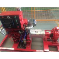 China Electrical motor Driver 400GPM@125PSI  UL/FM   End Suction Fire Fighting Pump sets for sale