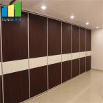 Collapsible Office Acoustic Folding Movable Partition Walls Customized Color for sale