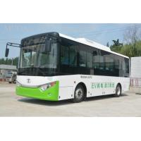 Man CNG Minibus Compressed Natural Gas Vehicles , Rear Engine CNG Passenger Van for sale