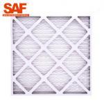 China Primary MERV13 Pre Filter Air Filter 40 , G4 Panel Cardboard Frame Furnace Filter for sale