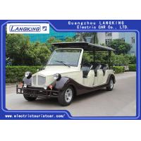 China 8 Person Golf Cart Car With Baskte / Electric Classic Cars For Park / Hotel for sale