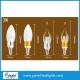 3 W Glass Shape Led Candle Lights / E14 Chandelier Led Candle Lamp CE for sale