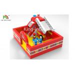 Fire Fighting Truck Theme Inflatable Jumping Bouncer Castle For Commercial Amusement for sale