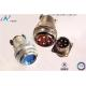 China Contact Resistance Industrial Circular Connectors Y11X-III2016ZJ10-2 Signal Transmission for sale
