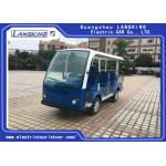 China Multi - Purpose Electric Sightseeing Bus 11 Seater with a Cargo Box Tourist Coach for sale