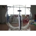 Clear PVC 2m Dia Inflatable Aqua Water Ball Nice Welds / YKK-zip From Japan for sale