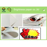 China Durable 105 Gsm Glossy Laser Paper , Glossy Brochure Paper Moisture Proof for sale