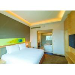 Modern Appearance Hotel Bedroom Set / Specific Use Walnut Wood Furniture for sale