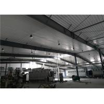 Construction design large span color coated Philippines light steel structure industrial workshop for sale