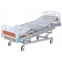 Multi Function Manual Hospital Bed With 4 Cranks For Adults for sale
