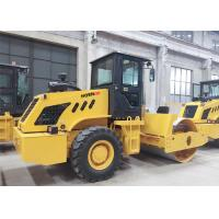China 8000kg 608S Heavy Equipment Roller , Small Road Roller Construction Machinery for sale