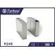 Fingerprint Optical Barrier Turnstiles Access Control System Self Reset Function for sale