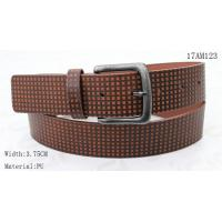 Old Silver Buckle Mens Casual Belts Special Embossed Patterns Available for sale