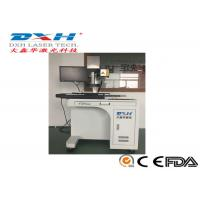 China Metal Knife Handle Automatic Laser Marking Machine With X Y Axis Working Table for sale