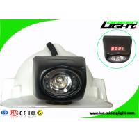 Anti Explosive LED Mining Light 8000lux Higher Brightness with High Beam LCD Screen for sale