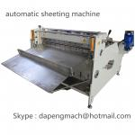 automatic roll to sheet cutting machine for PET, PC, PVC, PCB, FPC for sale